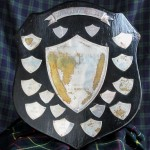Original Sutherland Shield gold trophy – Scotland vs The Rest