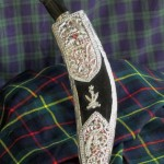 Nepal - Scotland friendship night Silver presentation Khukri c 1967