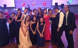 Members of the Elegance Dance Club